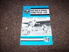 Hereford United v Dartford, 1971/72 [FAT]